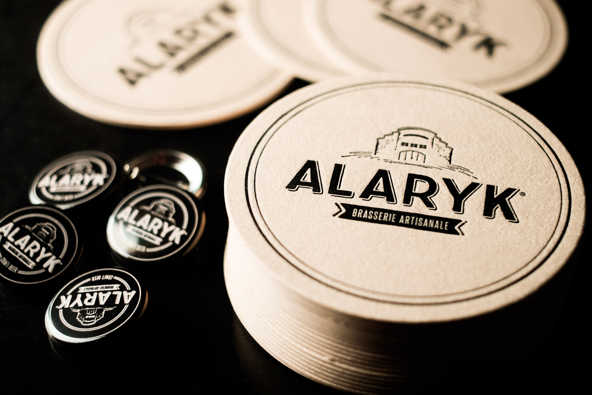 Création logotype bière